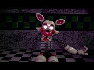 ( sfm fnaf ) мангл ( игрушка фокси-toy foxy )