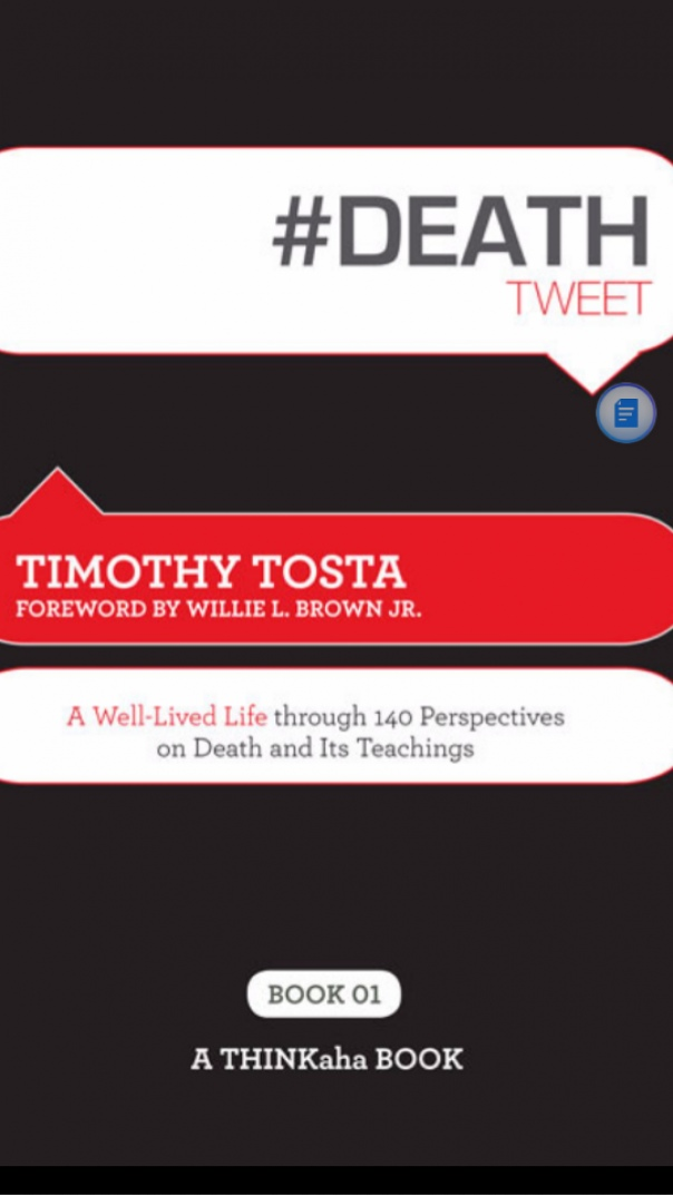 DEATHtweet Book01 A Well Lived