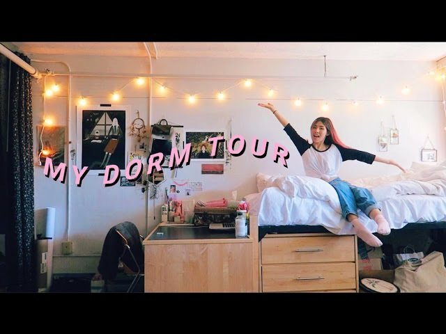 COLLEGE DORM ROOM TOUR '16 17 CatCreature @ RISD