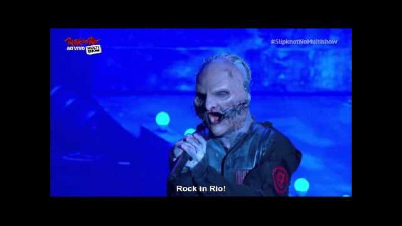 Slipknot - XIX Sarcastrophe Rock in Rio 2015 - Legendado.