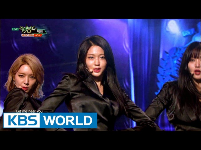 AOA - Bing Bing [Music Bank COMEBACK / 2017.01.06]