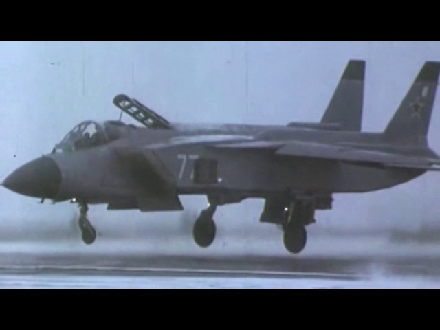 Yakovlev Yak 41M Yak 141 Soviet supersonic VTOL fighter