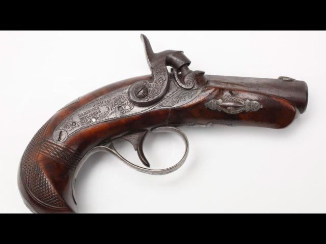 Как делают револьвер Могучий карлик Дерринджер МО