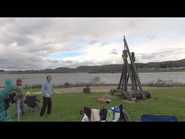 Punkin Chunkin Trebuchet Homemade Science with Bruce Yeany
