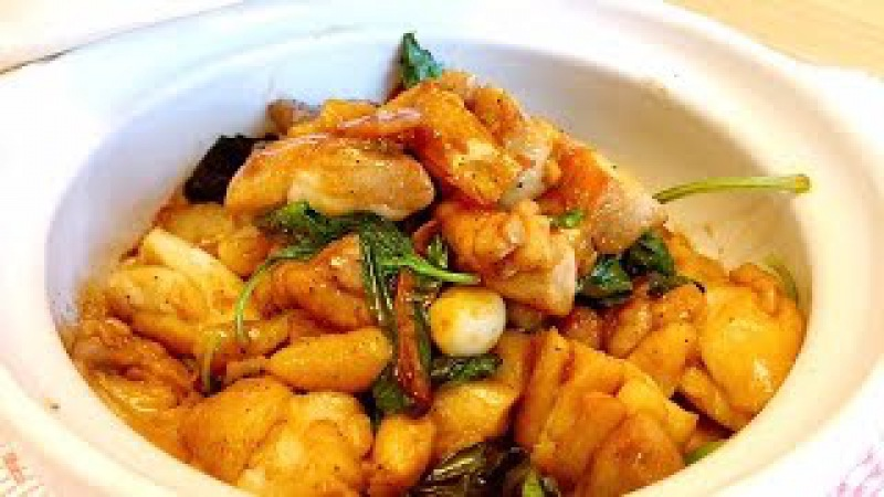 台湾著名三杯雞的家庭做法 美食天堂 CiCi's Food Paradise