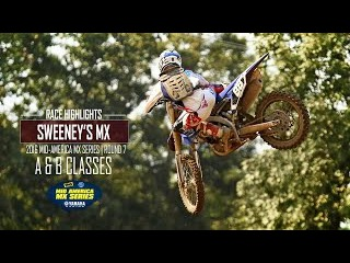 Sweeney's MX Mid-America Motocross Series RD7 A-B Classes - Glory Hog Media
