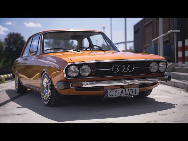Audi 100 C1 MTS Technik Conek Foto