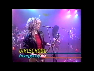 Girlschool - Emergency (1981) Bronze Rocks