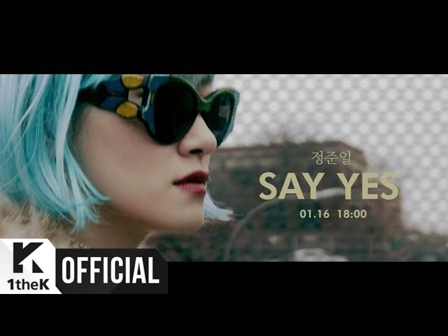 [Teaser] JOONIL JUNG(정준일) _ Say Yes