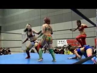 Hikaru Shida & Syuri Vs. Kana(WWE's Asuka) & Konami