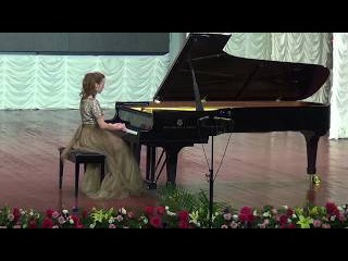 Anastasia Makhamendrikova -Mozart-Sonata C Major, KV 330- 1st part - YouTube