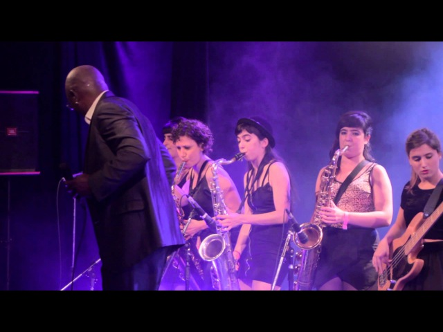 Don't Change Horses - Larry Braggs The T.O.P. Queens / Live @ La Trastienda, Buenos Aires.