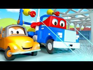 Лазерная сварка - Трансформер Карл в Автомобильный Город   детский мультфильм