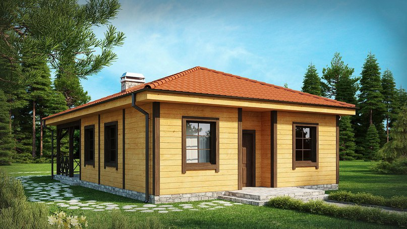 Проект дома «Кипарис», изображение №3