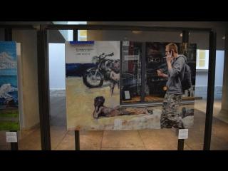 Мои работы на выставке финалистов конкурса Новый взгляд в Главном штабе Эрмитажа в Санкт Петербурге