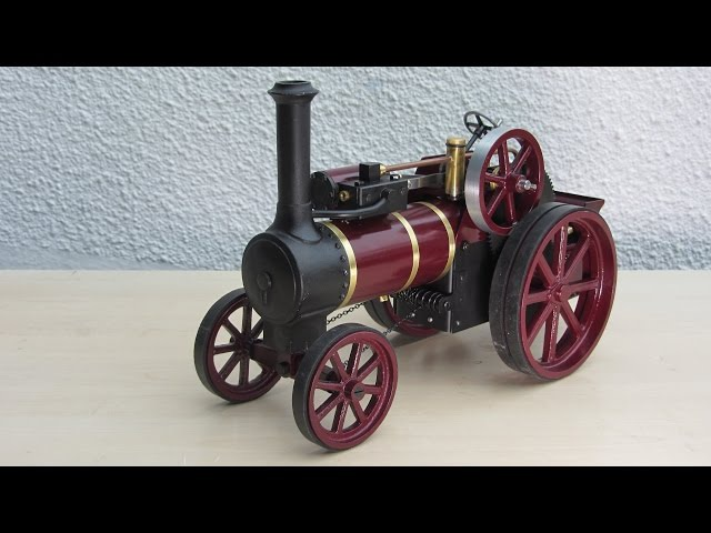 Simple Steam The Myfordboy Traction Engine Part 21 Painting