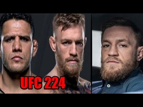 КОНОР ПРИЗНАЛСЯ ЧТО ОН ПРИНЯЛ БОЙ С РДА НА UFC 224! ОТКРЫТЫЕ ТРЕНИРОВКИ UFC 225!