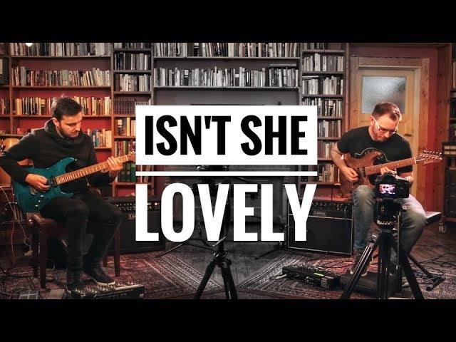 Martin Miller Tom Quayle Isn t She Lovely Stevie Wonder Live in Studio