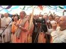 Niranjana Swami First kirtan for Sri Sri Gaura Nitai at Bhakti sangama Ukraine 4 Sep 2017