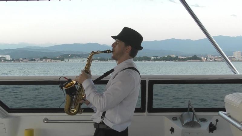 Выступление на Яхте Артур Бедикян Саксофонист Сочи