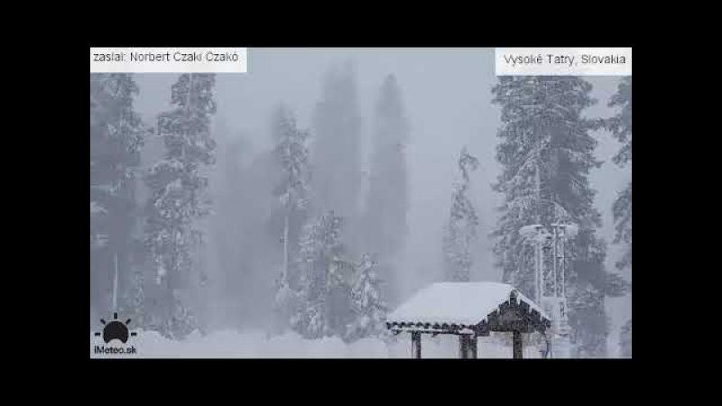 V Tatrách napadlo 25 cm snehu