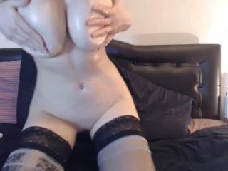 Firstbornunicorn Sucks Cock  gets Cum on her Amazing Tits