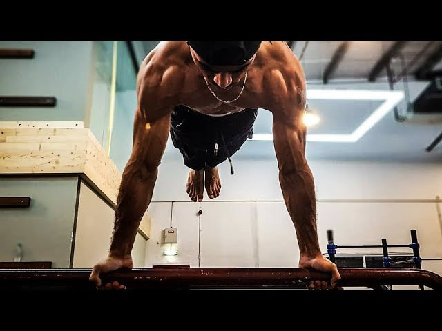 Monster Calisthenics and Street workout Eryc Ortiz