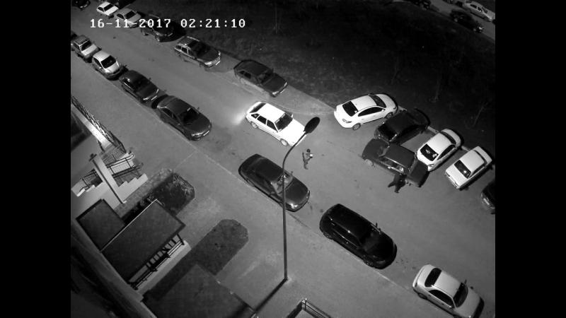 Борьба с автоворами в ЖК Платовском