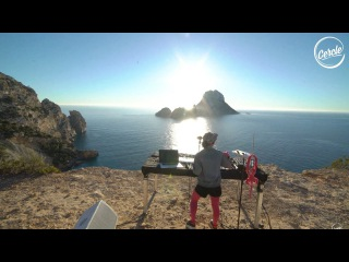 Giorgia Angiuli live  Es Vedrà in Ibiza for Cercle