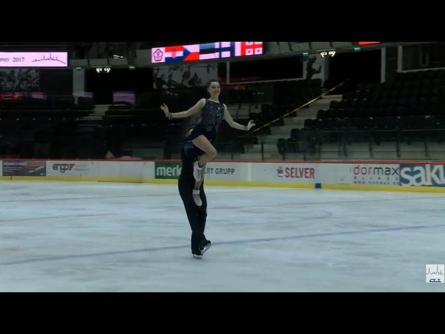 Людмила Сосницкая Павел Головишников 2017 TA⅃⅃INN TROPHY SENIOR Ice Dance FD