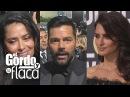 Salma, Penélope y Ricky Martin alzan la voz en los Globos de Oro | GyF
