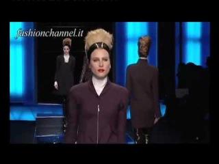 """Karl Lagerfeld"" Autumn Winter 10 11 Paris 2 of 3 pret a porter women by FashionChannel"