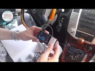 видеорегистратор Anytek AT66A лучший цена-качество, распаковка, пример видео