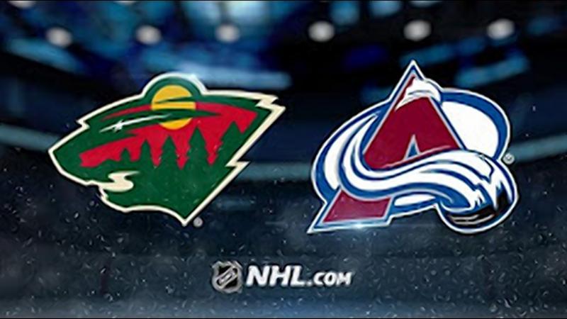 НХЛ регулярный чемпионат Колорадо Эвеланш Миннесота Уайлд 7 2 2 1 2 1 3 0