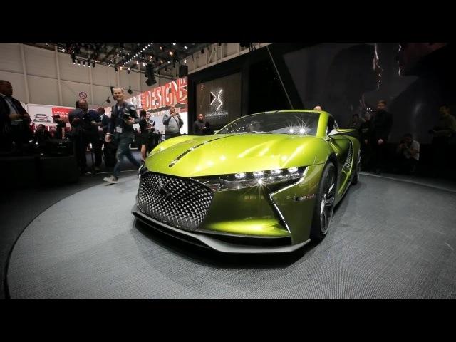 Geneva Motor Show DS E Tense