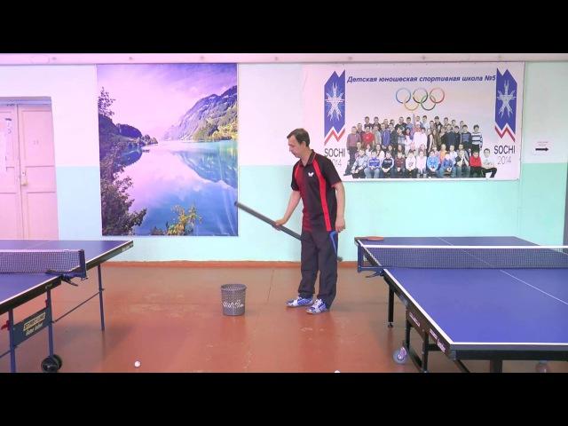 Устройство для сбора теннисных мячей