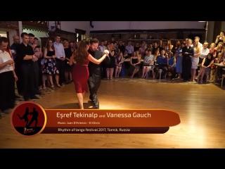 Esref Tekinalp and Vanessa Gauch 4-4, RTF 2017, Tomsk