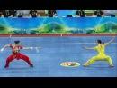 2014 1st China National Wushu Games 第一届全国武术运动大会 Women Duilian Jiangsu Team 江苏 沈清 张洋洋 9 62