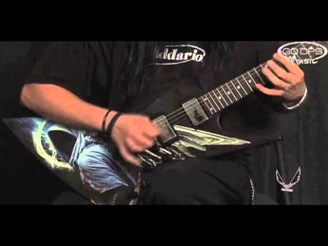 Dean Guitars Dave Mustaine Zero Angel of Deth II Electric Guitar played by Jerry Mortellaro