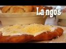 Lángos Fried Dough Hungarian Street Food