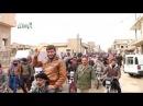 حمص الرستن مظاهرة غاضبة لاهالي الرستن طالبت بخروج هيئة تحرير الشام من المدينة 13-2-2018