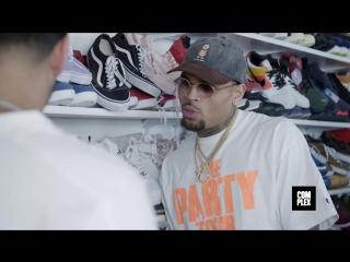 Outpac x VPerevode: Chris Brown показывает самую умопомрачительную коллекцию сникеров