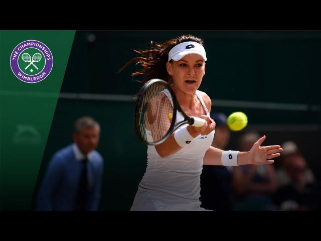 Wimbledon 2017 Third Round Agnieszka Radwanska v Timea Bacsinszky Highlights