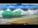 Art Lesson: How to create a realistic Wave with H2o Water Mixable Oil Paints