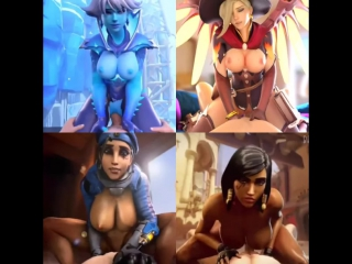 Vk.com/watchgirls rule34 overwatch sombra mercy ana pharah sfm 3d porn sound