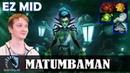 MATUMBAMAN - Death Prophet EZ MID   Dota 2 Pro MMR Gameplay