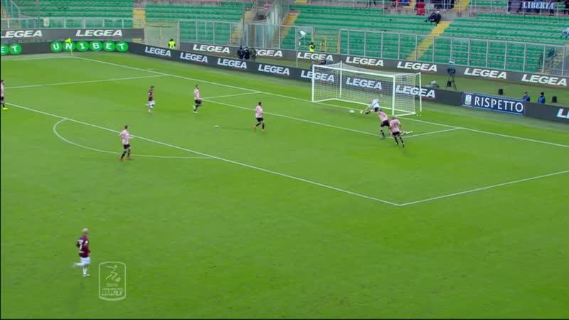 Palermo Livorno Hilites 16a giornata Serie BKT