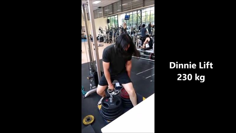 Dinnie Lift 250kg / R-Ring 140kg