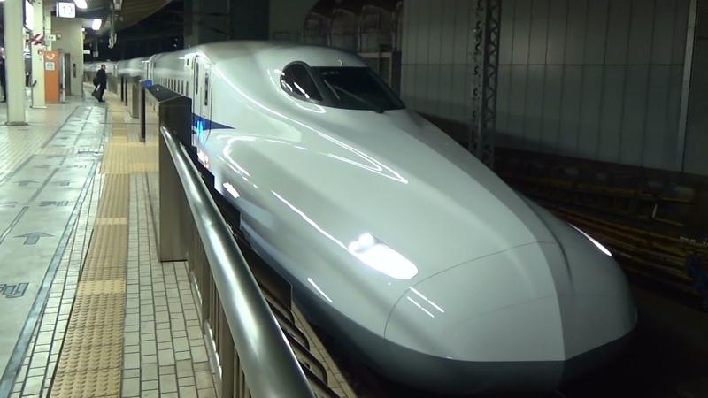 N700系 こだま631号 グリーン車 東京→名古屋 2017.01.18