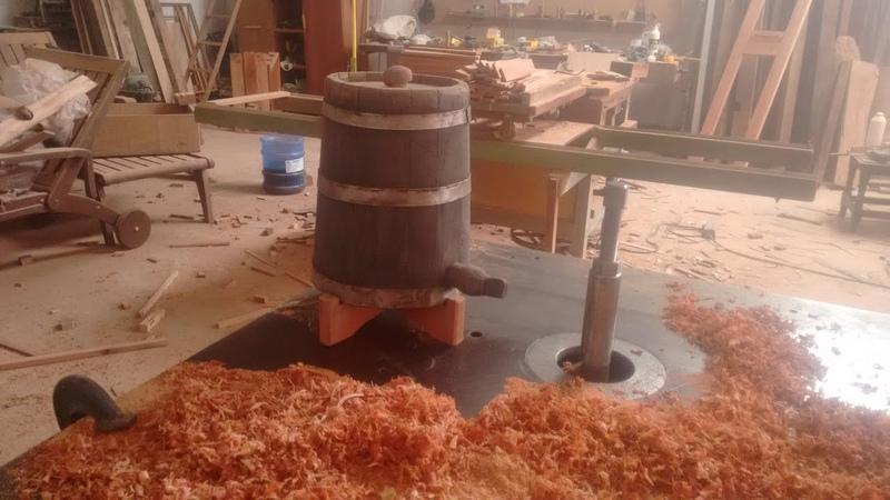 Como fazer uma dorna barril